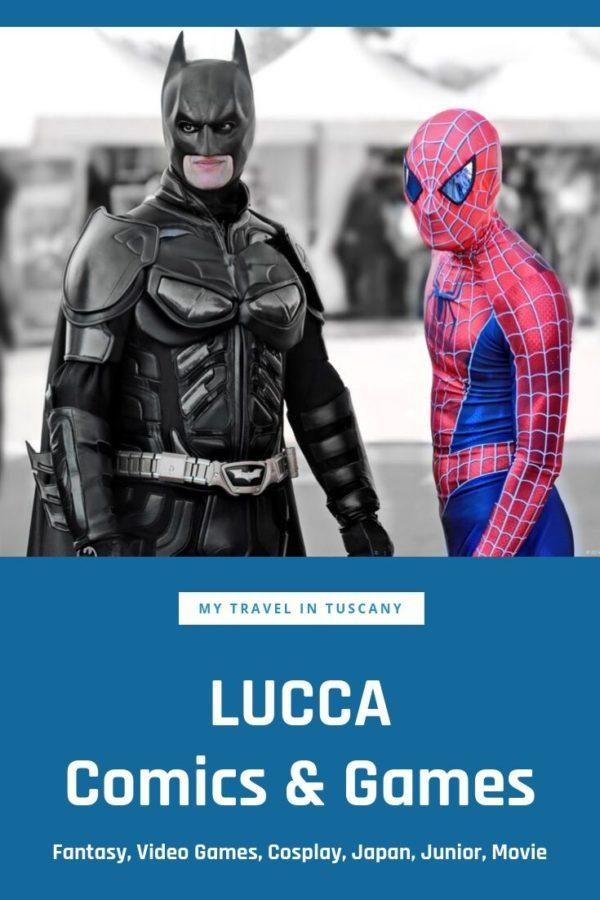 Lucca Comics & Games Pinterest