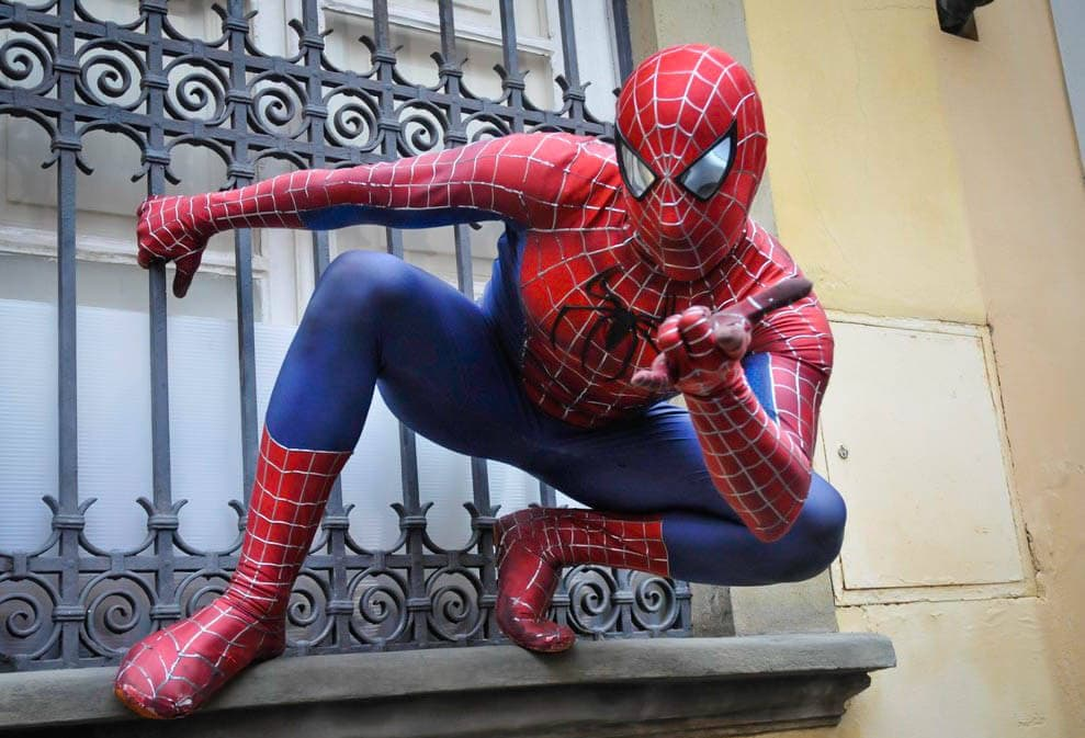 Spiderman Lucca Comics Tuscany