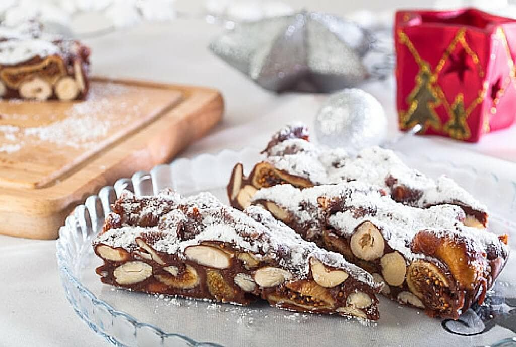 panforte Christmas cakes my travel in tuscany