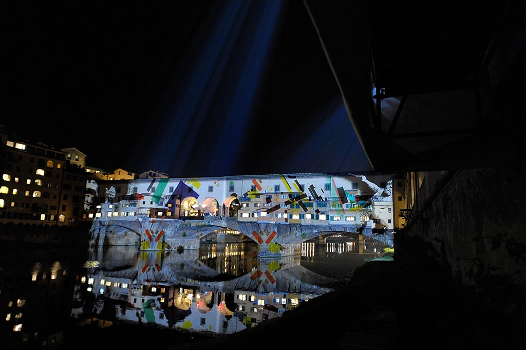 light festival Florence Light PONTE VECCHIO Festival My Travel in Tuscany