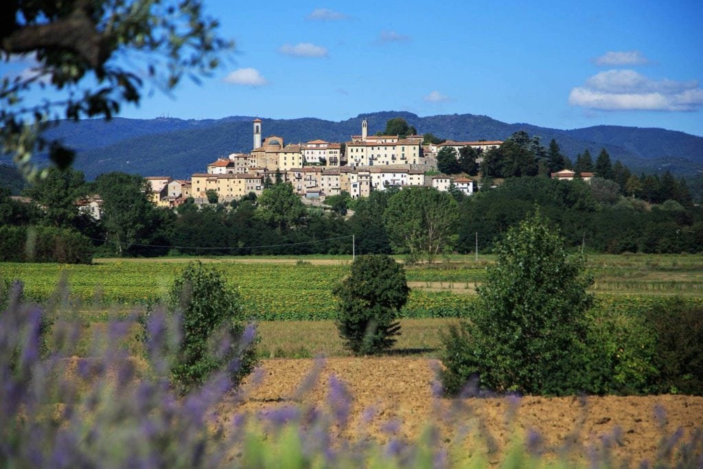 Monterchi Valtiberina Tuscany villages