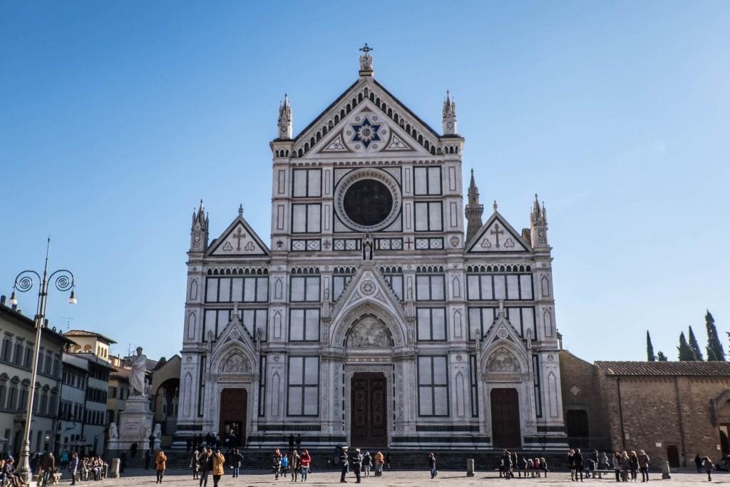 Santa Croce Florence facade