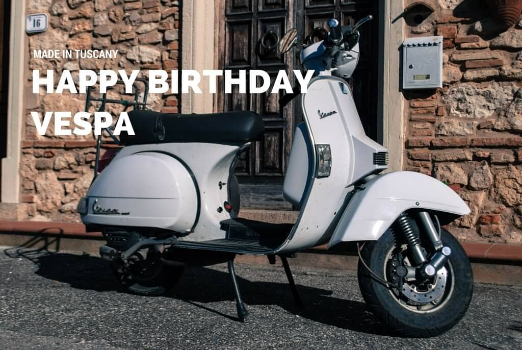 Happy Birthday Vespa