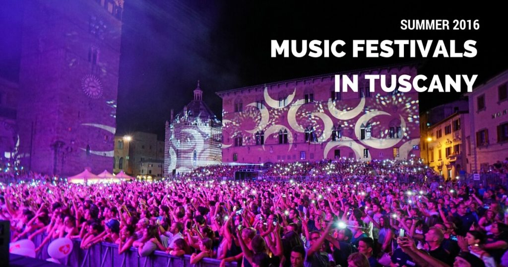 Summer Festivals 2016 in Tuscany Pistoia