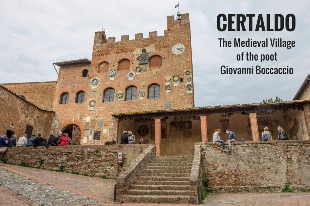 Certaldo village in Tuscany