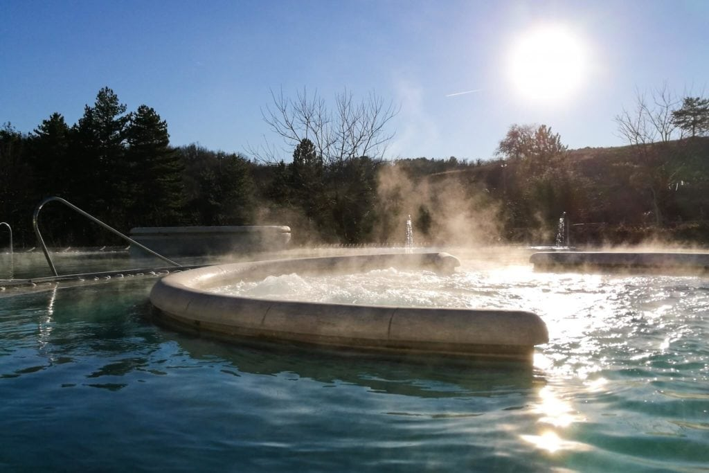 Chianciano hot springs