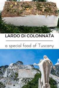 Colonnata and Lardo di Colonnata