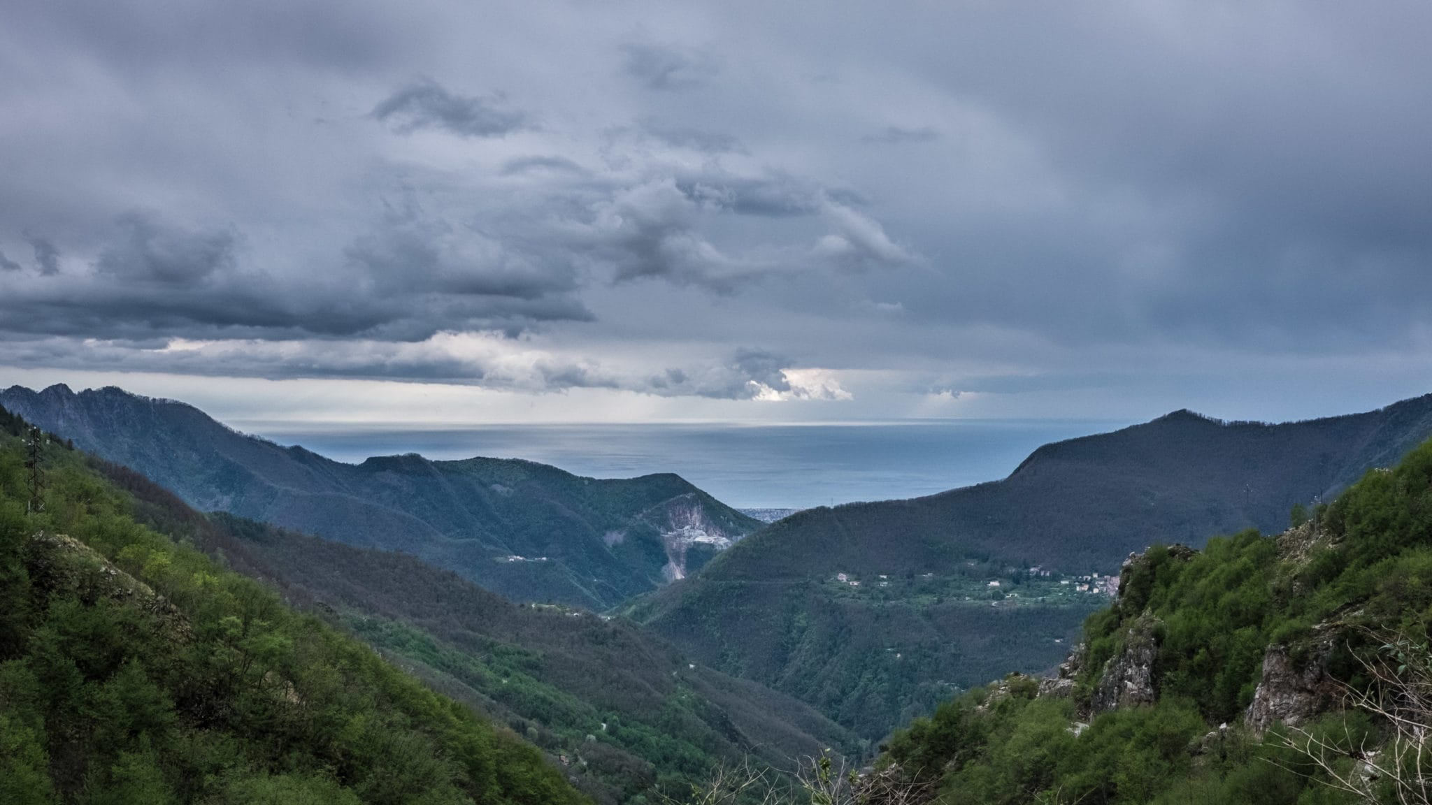 Landscape from Mount Corchia