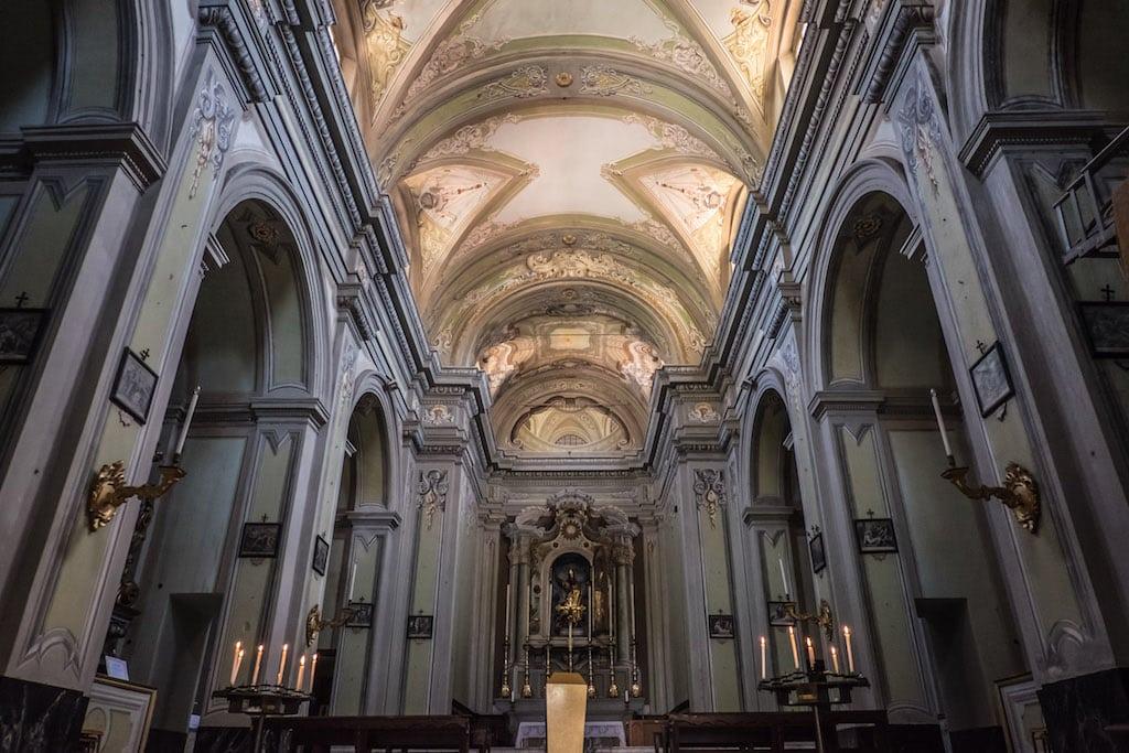 San Nicolo church in Pontremoli Tuscany