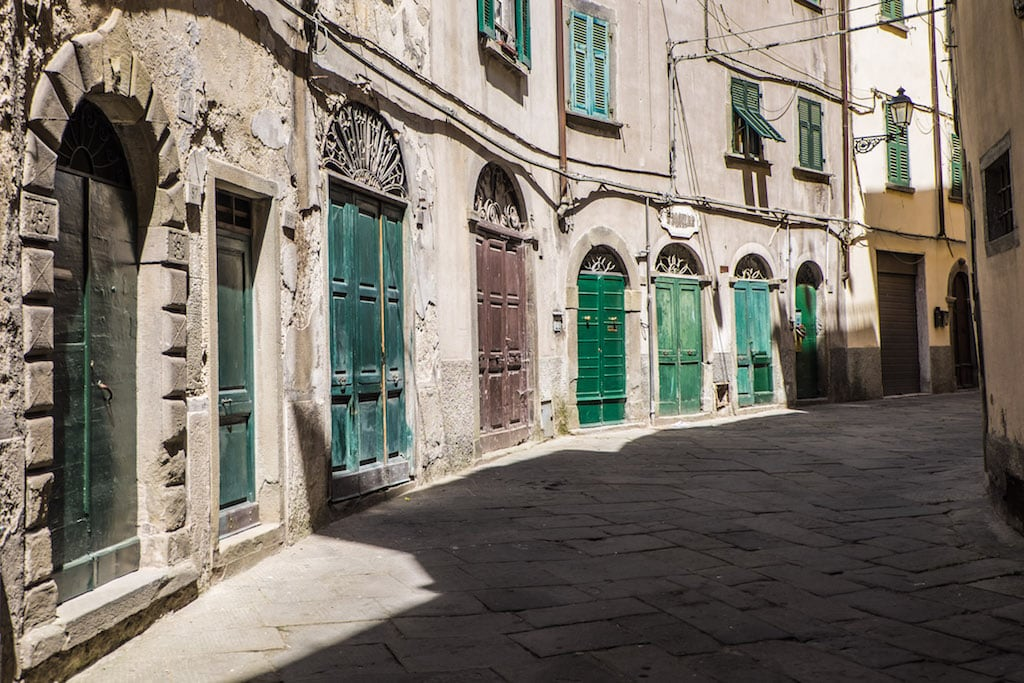 Via Garibaldi Pontremoli Tuscany