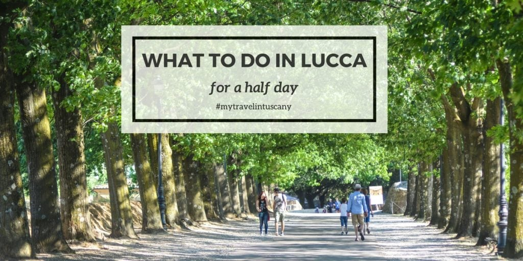 What to do in Lucca for a half day cover Fb
