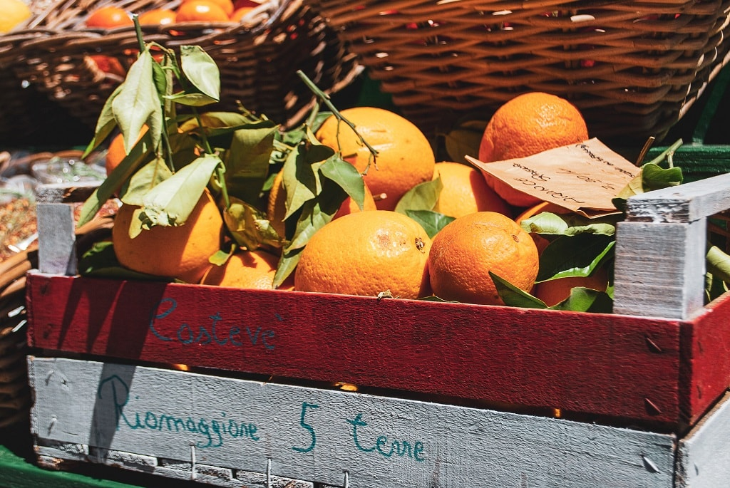 From Florence to Cinque Terre, Oranges