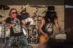Guns N'Roses in concert Firenze Rocks 2020