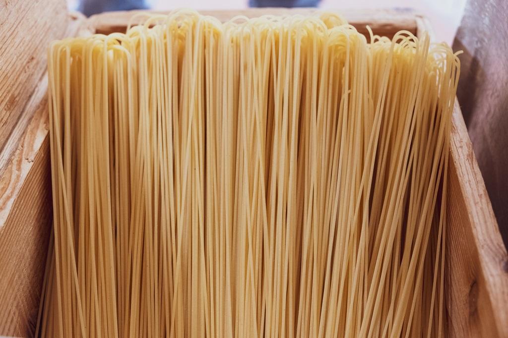 Artisanal Spaghetti, Pasta Lab Martelli Valdera in Tuscany