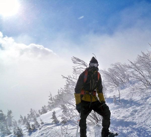 Winter Climbing Mount Washington Map