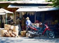Selling basketwork...