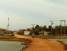 main road through a village..