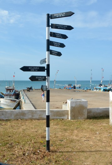Point Pedro,Sri Lanka.. a long way from most places...