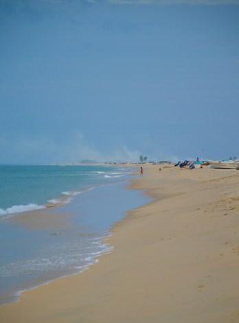 Long East coast beach....