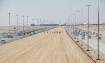 Track, camels and the racing cars...