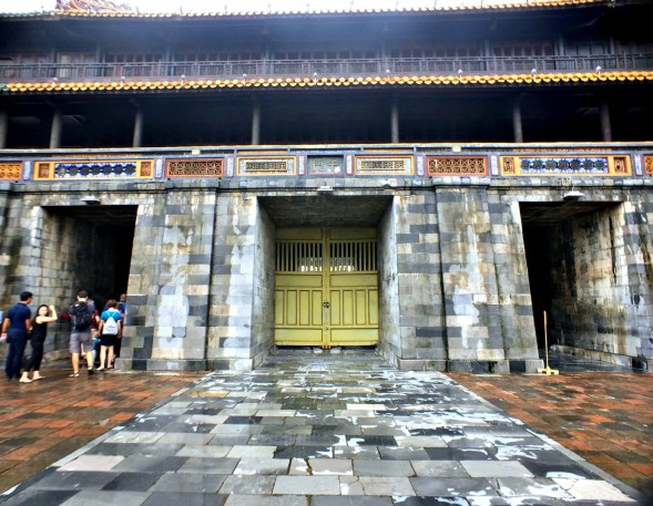The entrance to the Imperial City...