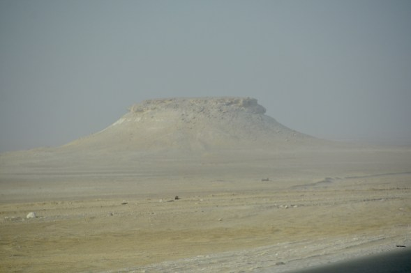 Butte on the part of the planet that is Oman...