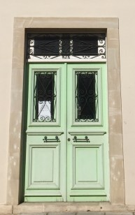 These are some renovated Cypriot doors I found today...
