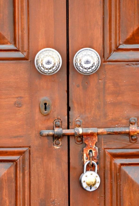 Locked, no key, no entry for me...