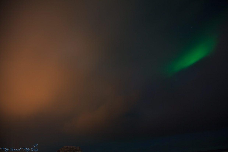 Islandia namiastka zorzy