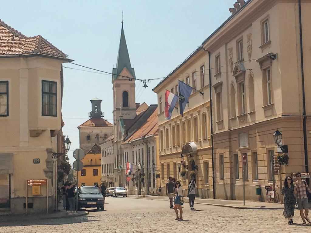 rues zagreb capitale croatie