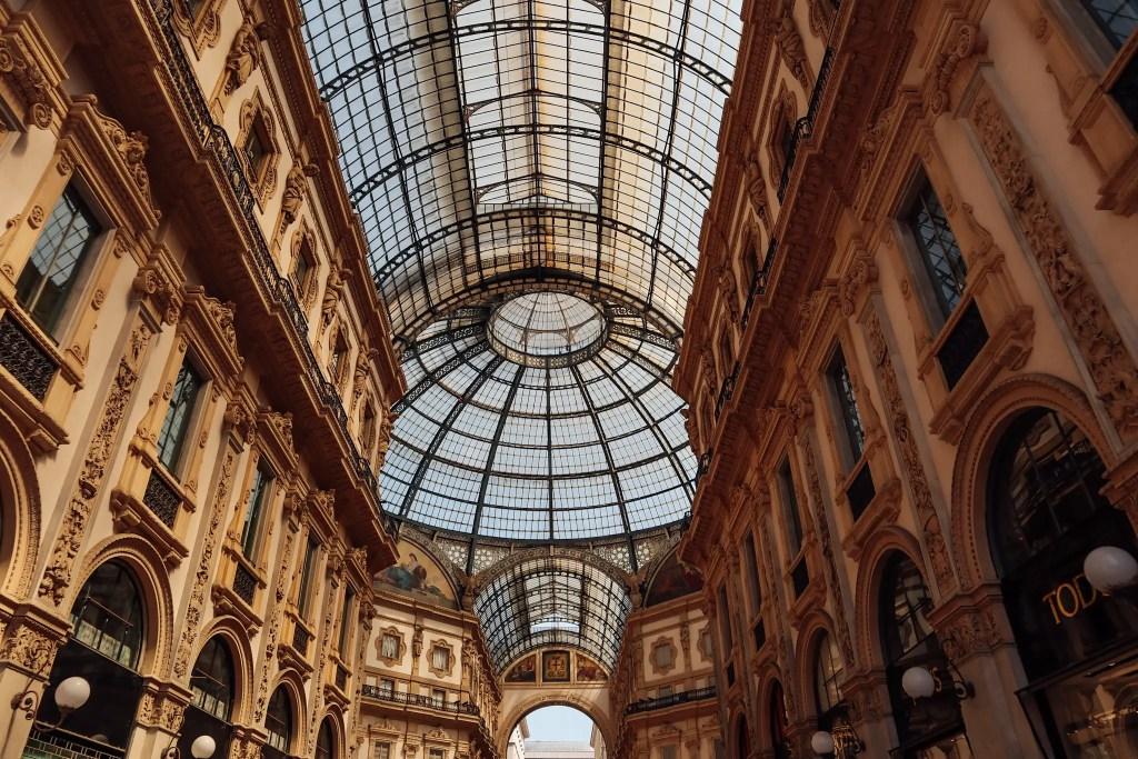 galerie milan italie