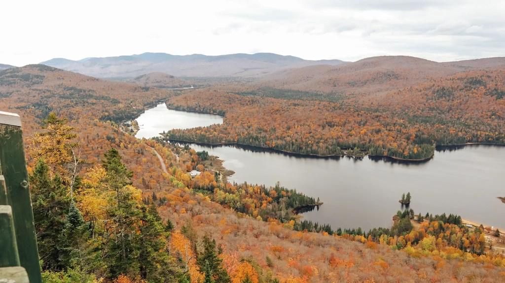 parc national mont tremblant automne