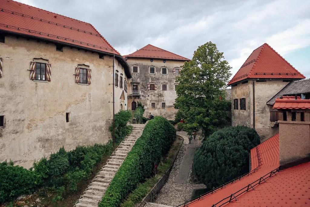 remparts chateau de bled slovénie