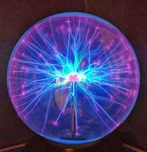 plasma globe at sharjah science museum