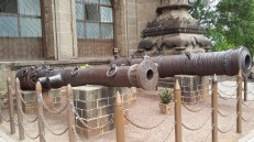 Cannon at Museum, Gol Gumbaz