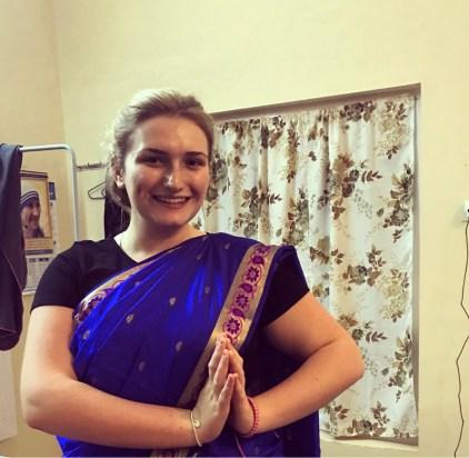 My new Sari 😛