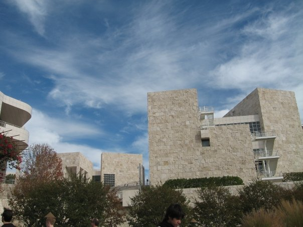 The Getty - sometimes it's too nice to inside!