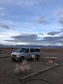 Our campsite!