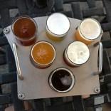 Delicious flight of beers!
