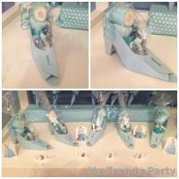 Zapatos de cenicienta porta chuches