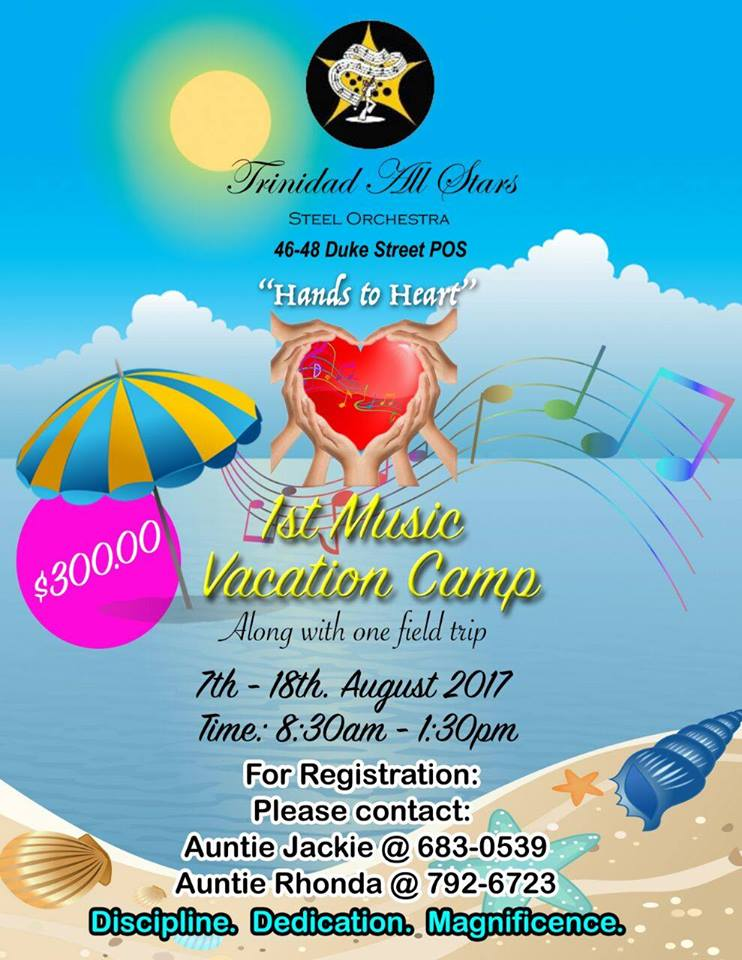 Trinidad All Stars 1st Vacation Music