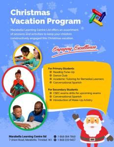 marabella learning centre christmas 2017
