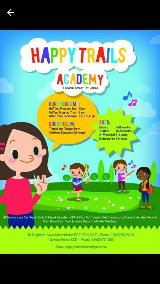 Happy Trails Academy My Trini Chile