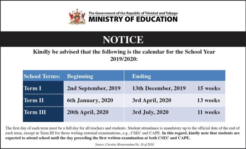 Public holidays in Trinidad and Tobago