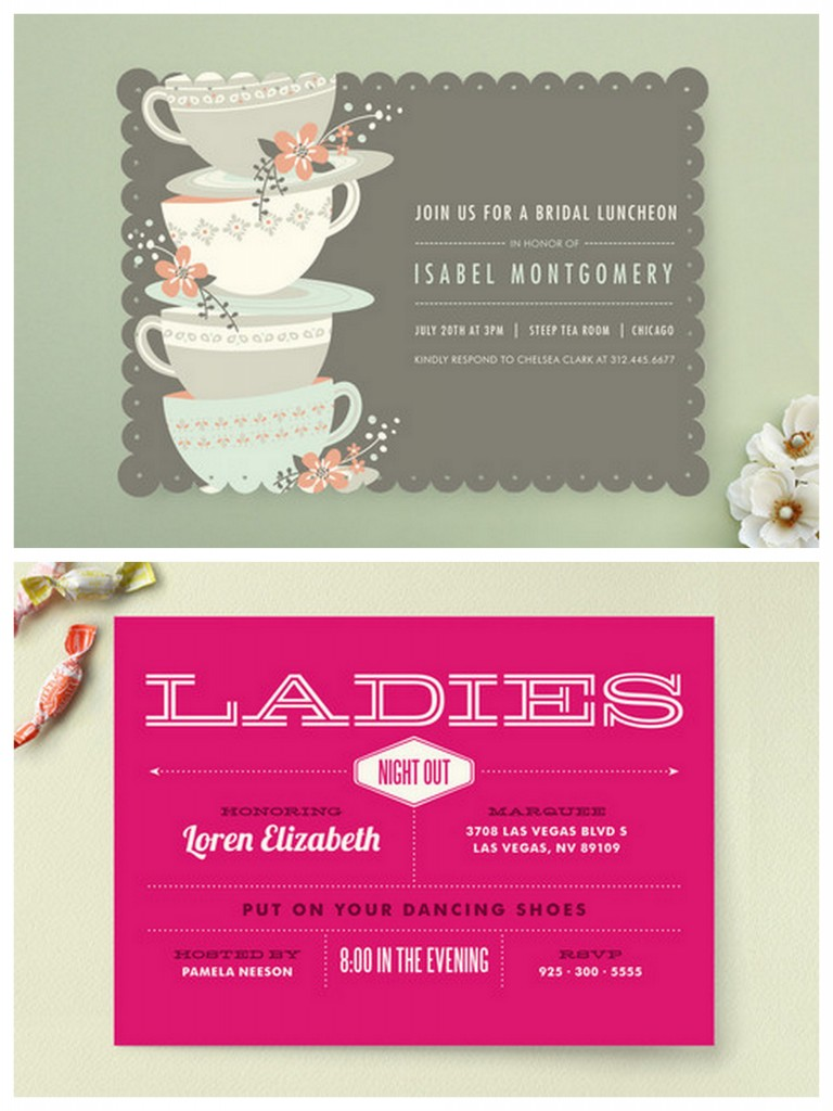 Design Bridal Shower Invitations Online