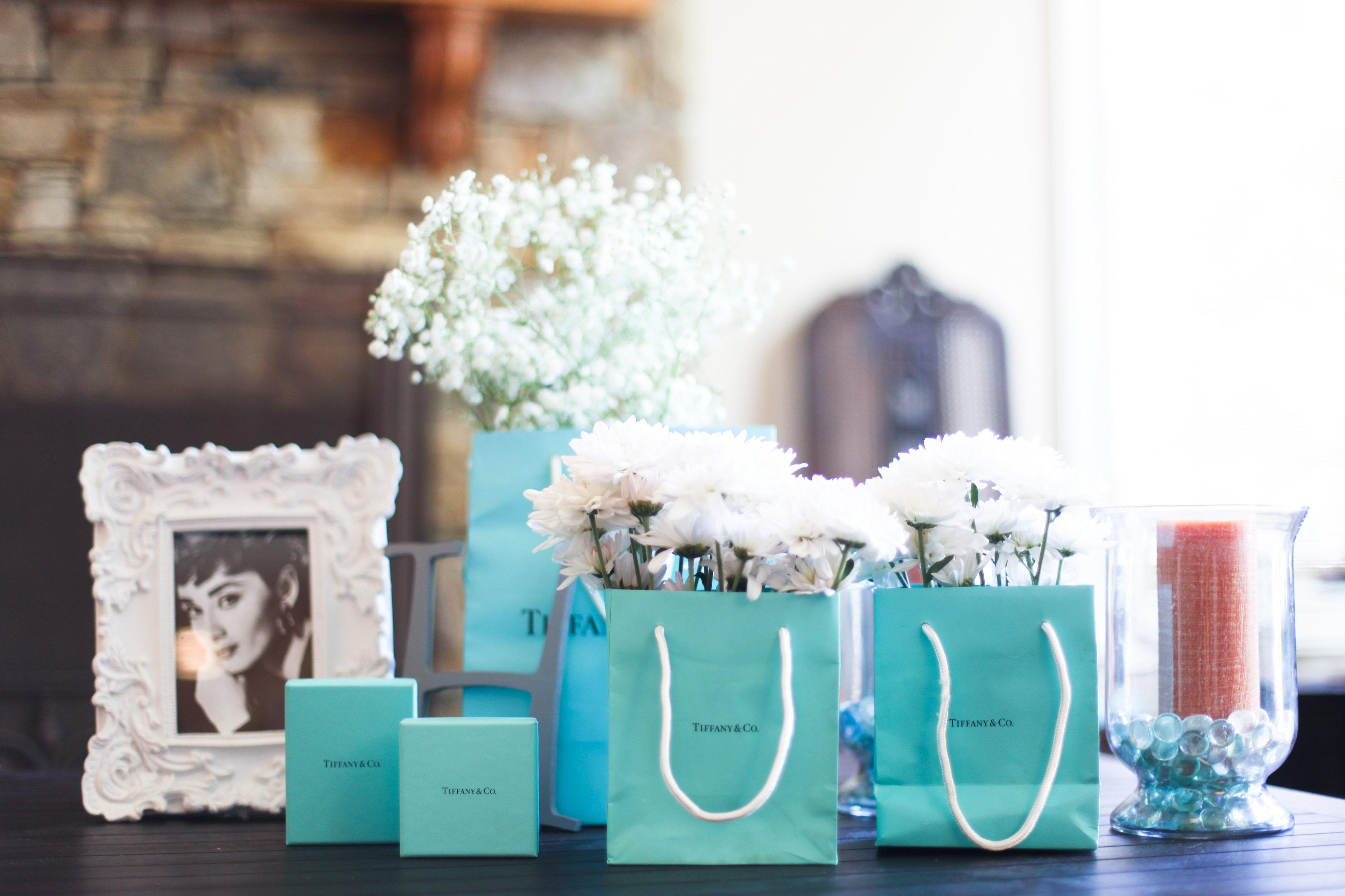 Breakfast at Tiffanys Bridal Shower by Amy Rizzuto Photography  TrueBlu  Bridesmaid Resource