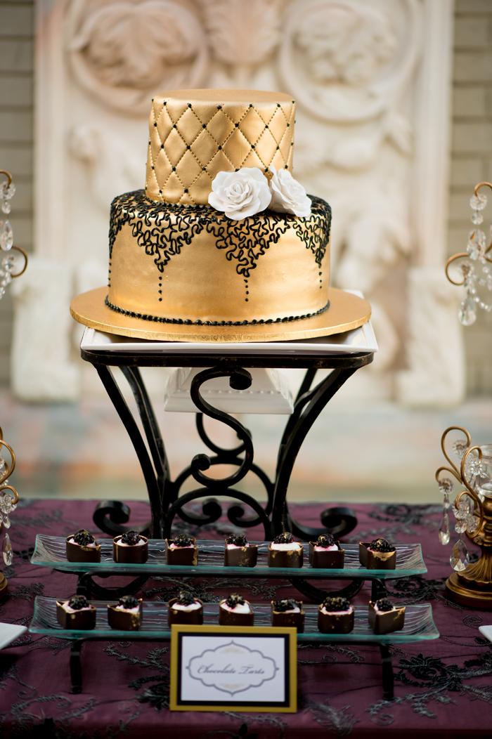 Leas Glamorous Boudoir Bridal Shower  TrueBlu  Bridesmaid Resource for Bridal Shower and