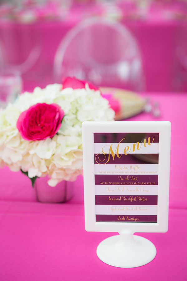 ghost chairs adjustable gaming chair kate spade inspired bridal shower in connecticut - trueblu | bridesmaid resource for ...