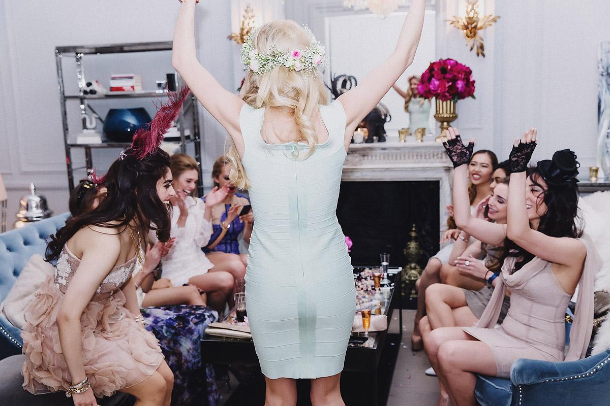 A Beautiful Hen Party in London  TrueBlu  Bridesmaid