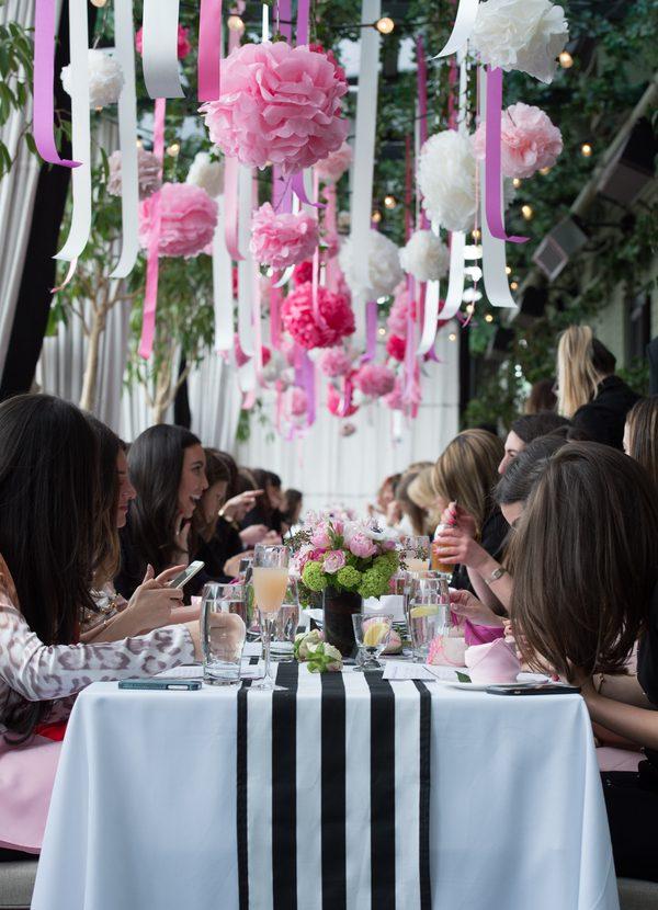 A Whimsical Garden Bridal Shower in New York City  TrueBlu  Bridesmaid Resource for Bridal